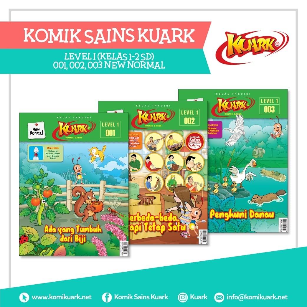Paket Kuark New Normal Edisi 001 - 003