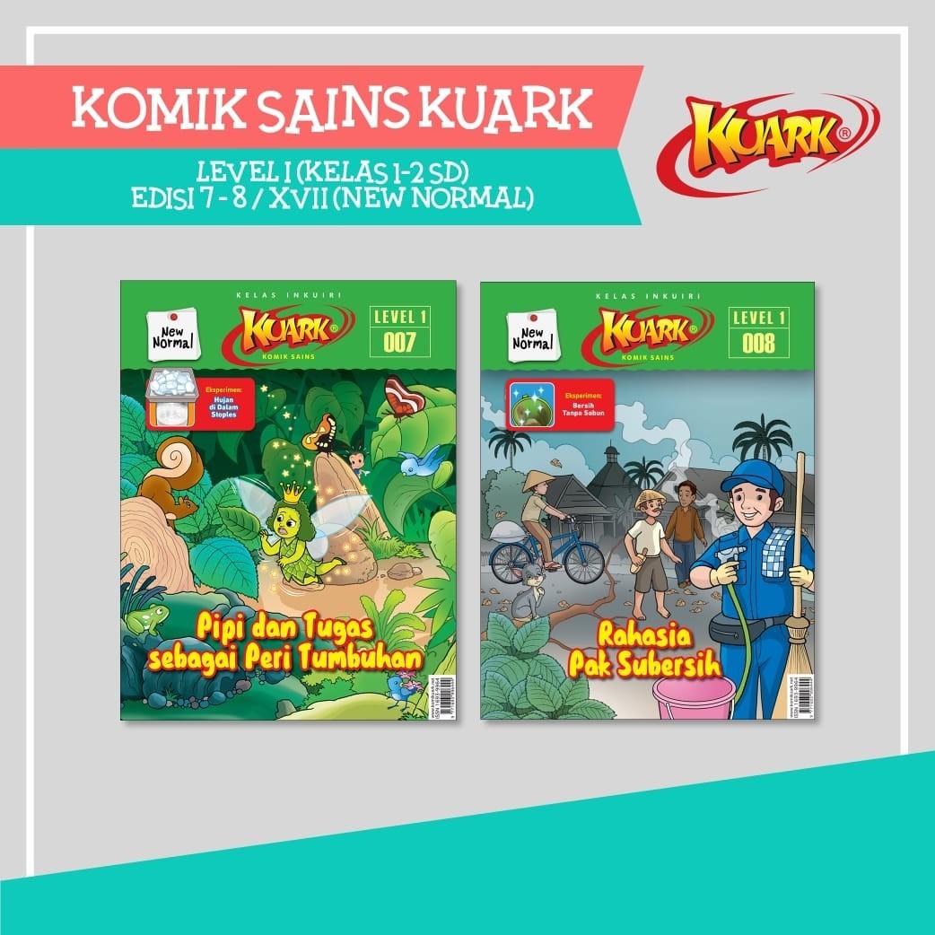 Paket Kuark New Normal Edisi 007 - 008